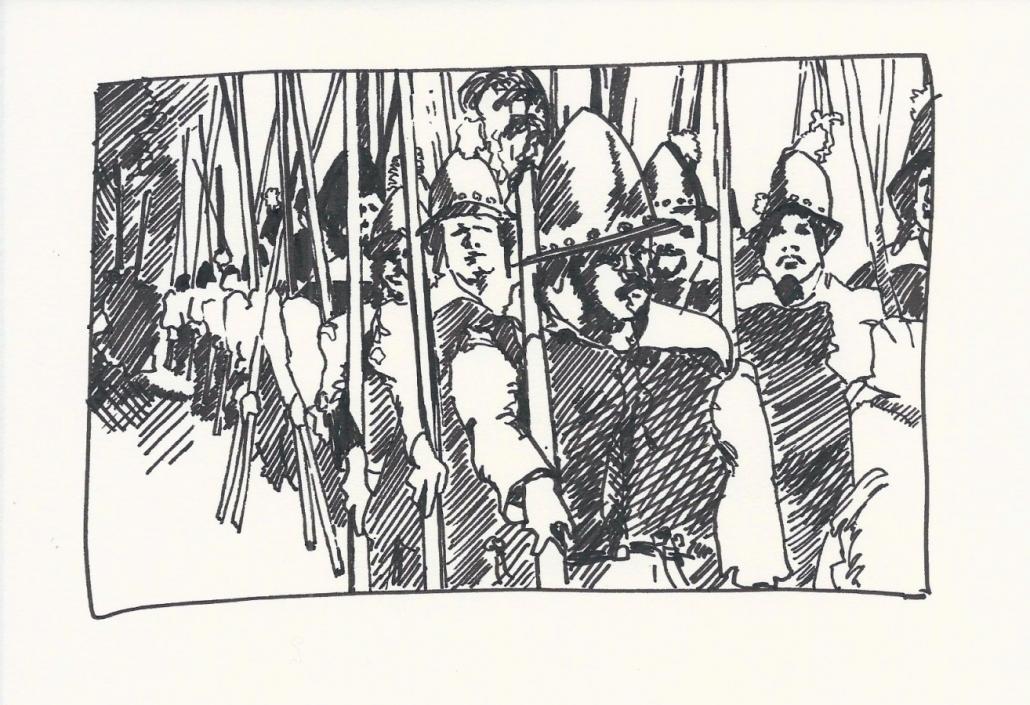 Wallenstein Postkarte-1 Pikeniere