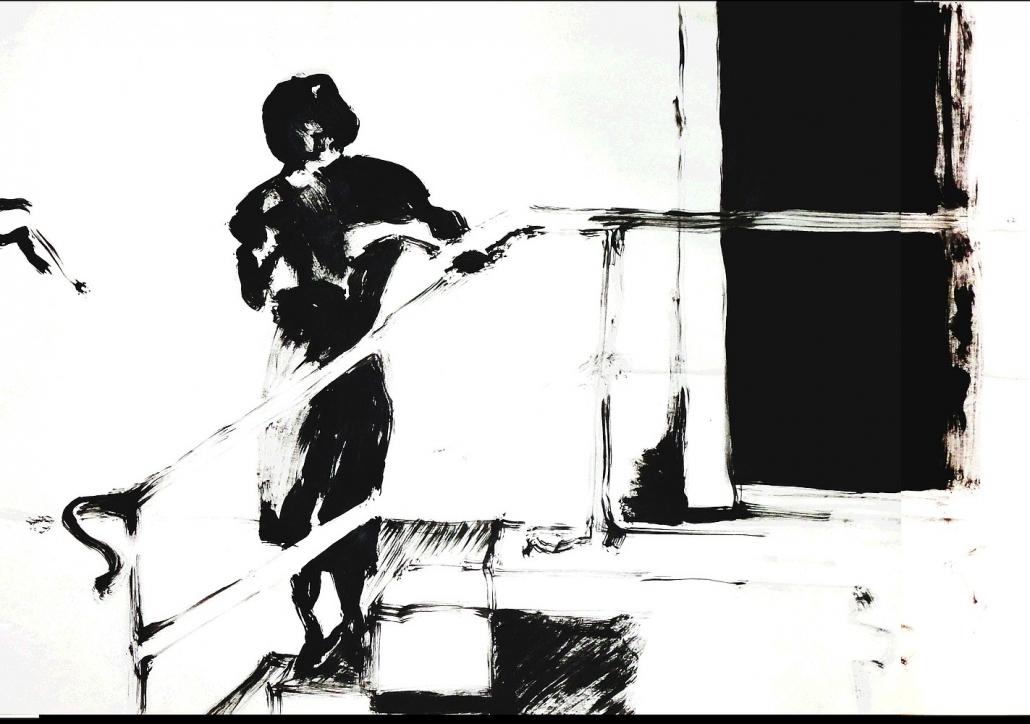 50 Frames - RealityBites: Dame am Geländer