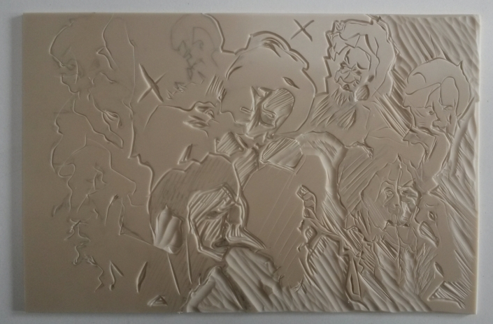 Löwinnen Druckplatte 2