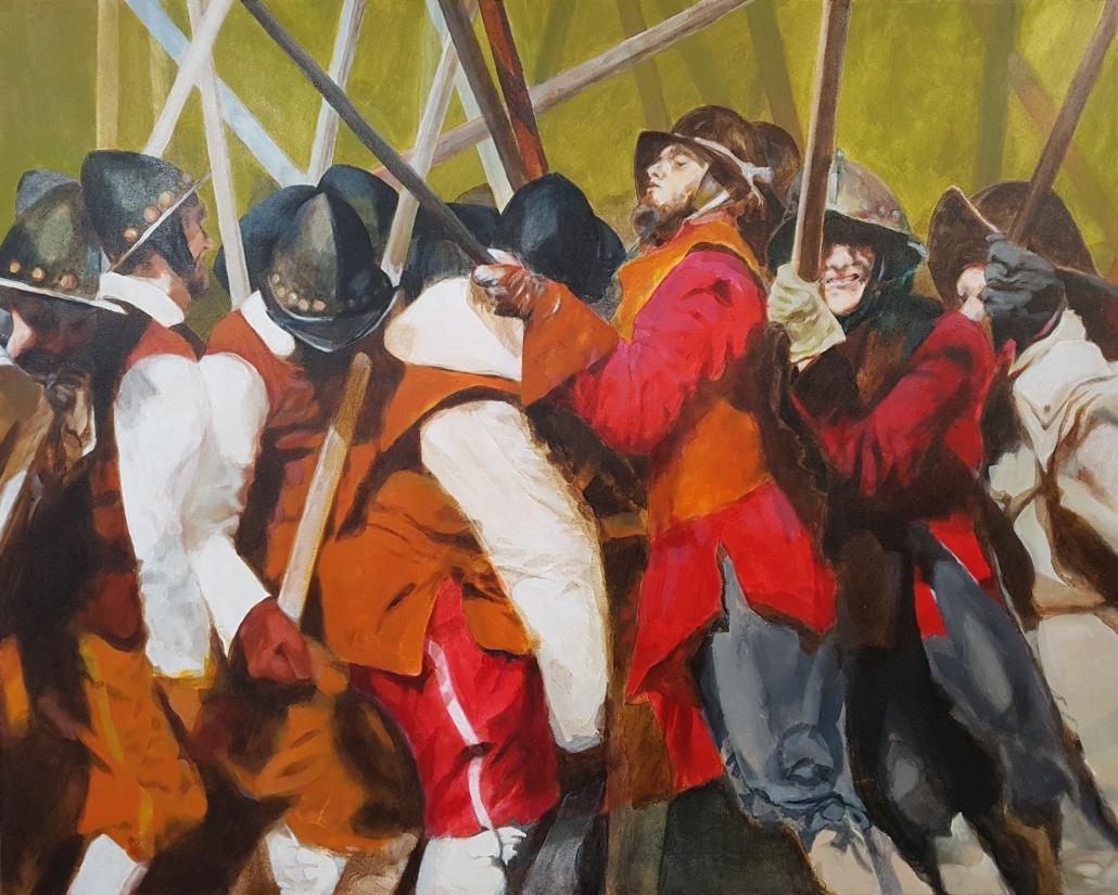 Pikeniere Gemälde 80x100