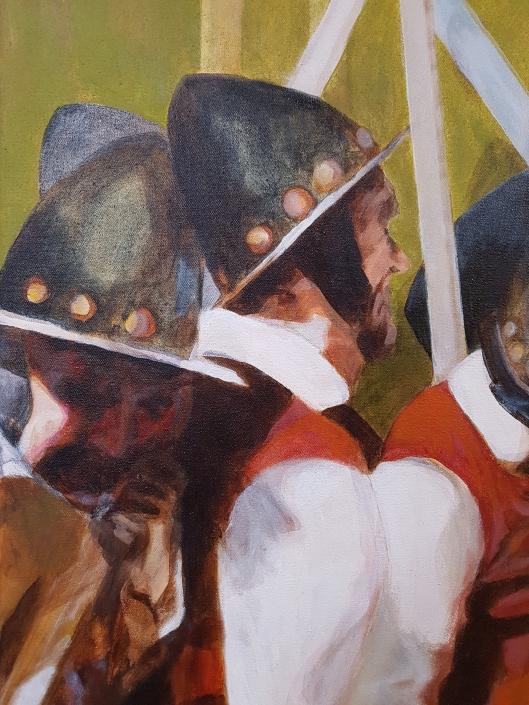 Pikeniere Gemälde Detail-1