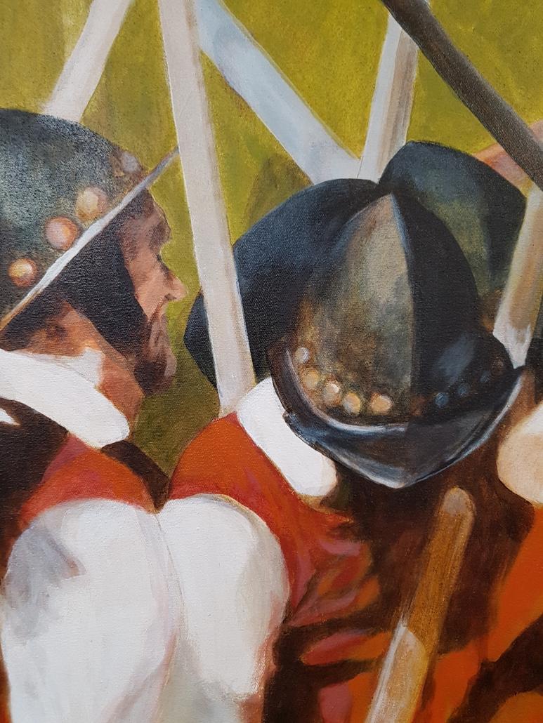 Pikeniere Gemälde Detail-2