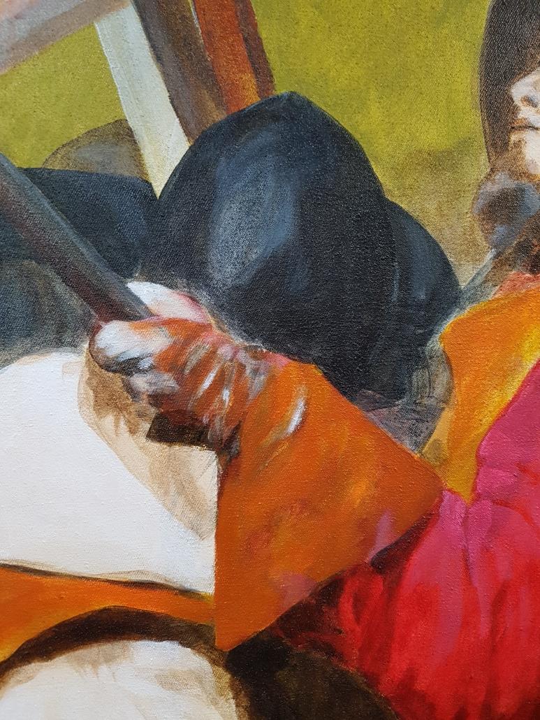 Pikeniere Gemälde Detail-3