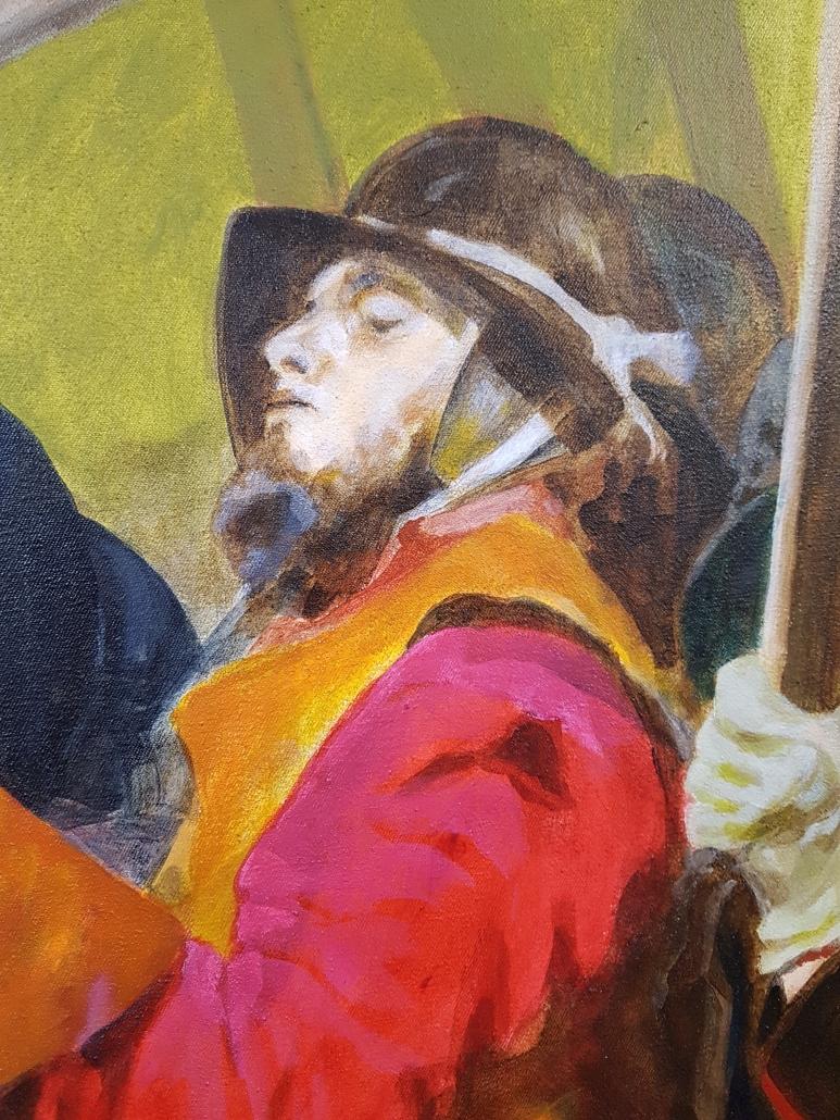 Pikeniere Gemälde Detail-4