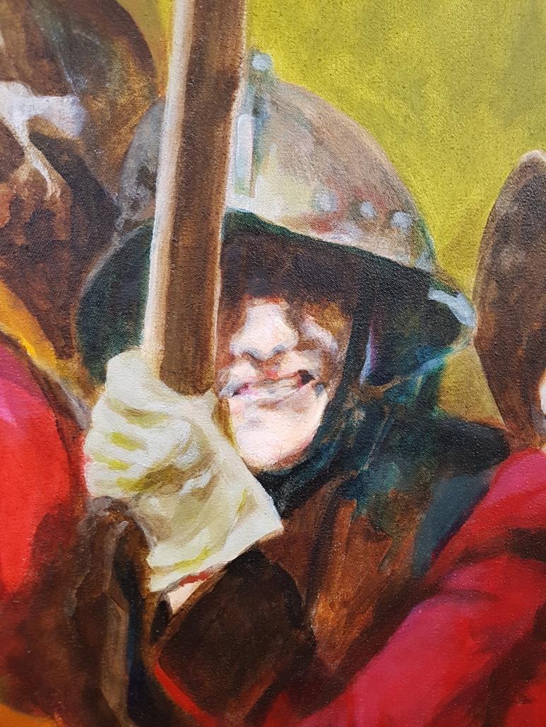 Pikeniere Gemälde Detail-5
