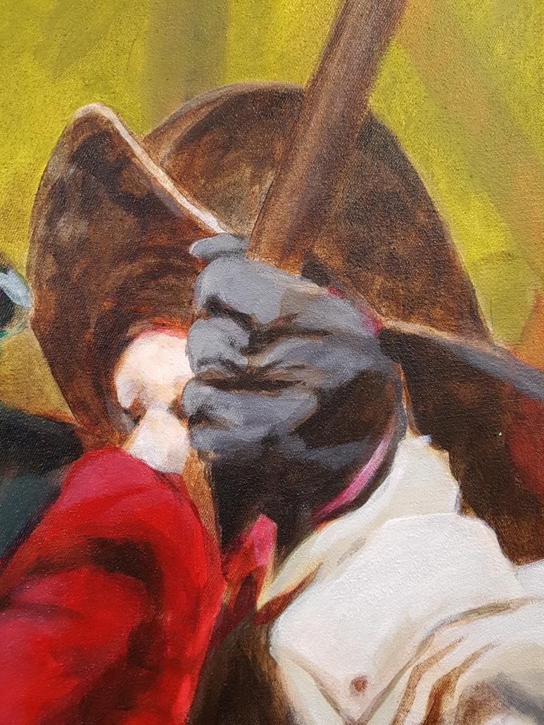 Pikeniere Gemälde Detail-6