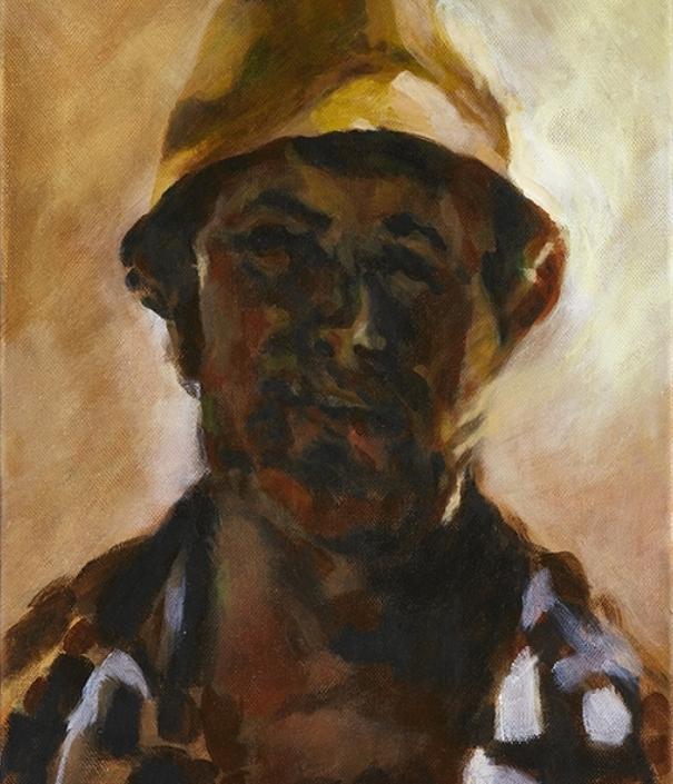 Portrait eines Berglers