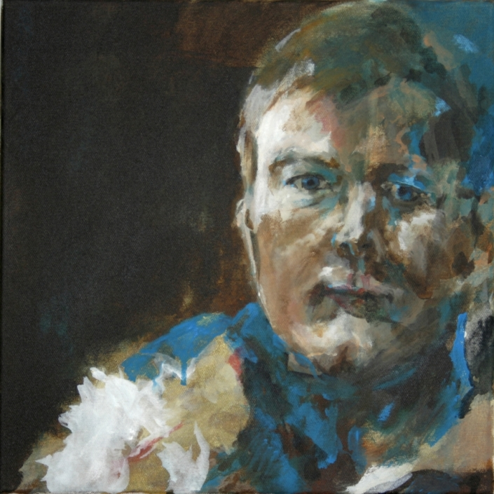 """Selbstportraits 2011 """"Selbst, älter"""""""