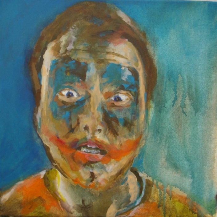 "Selbstportraits 2011 ""Selbst, Joker"""